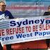 Foto dari Sydney untuk Kebebasan Papua Barat -15 Agustus