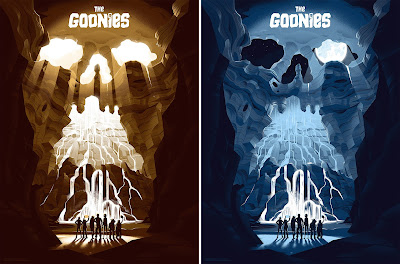 The Goonies Screen Print by George Bletsis x Mondo