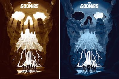 The Goonies Screen Print by George Bletsis x Mondo