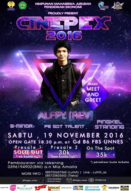 CINEPEX - Celebration Night of Pendidikan Ekonomi with Alffy [Rev]