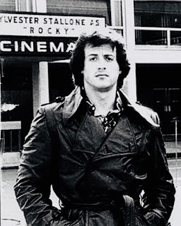 Epic throw back of hollywood star Silvester Stallone