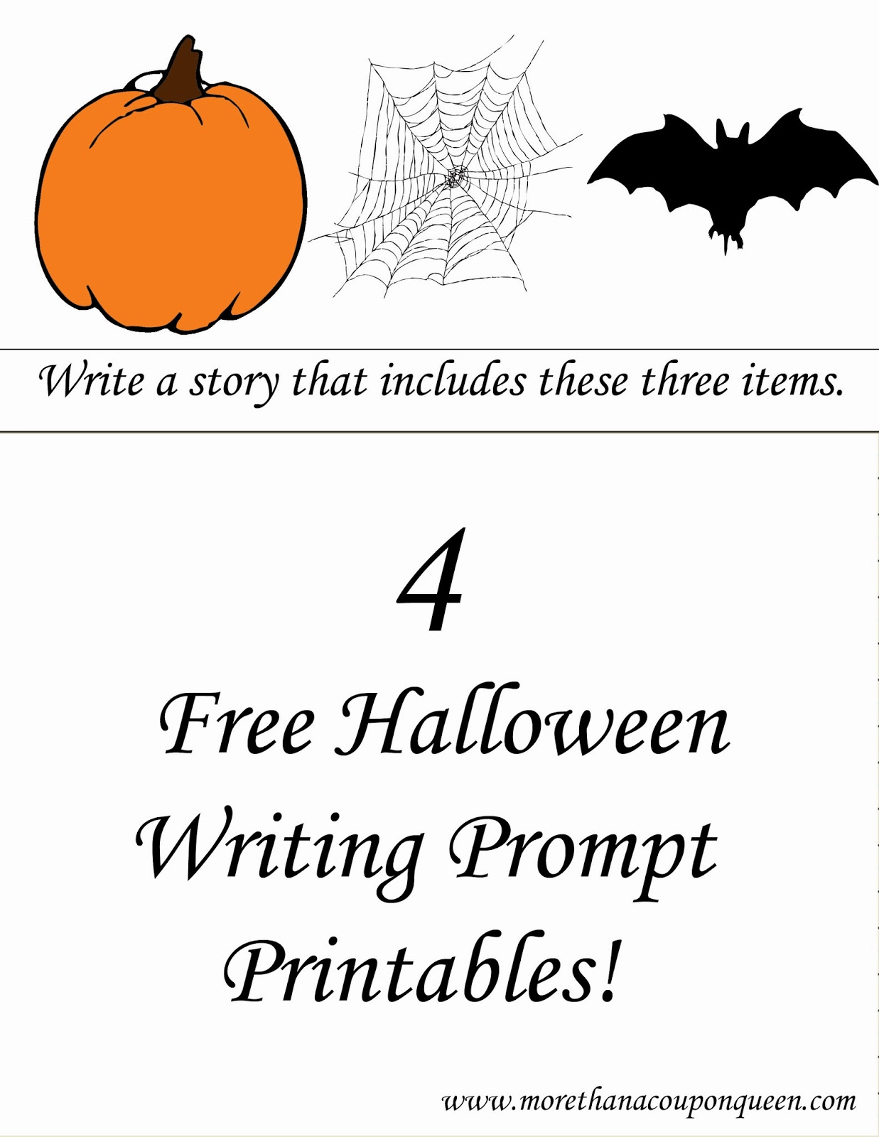 Halloween Writing Prompt Printables