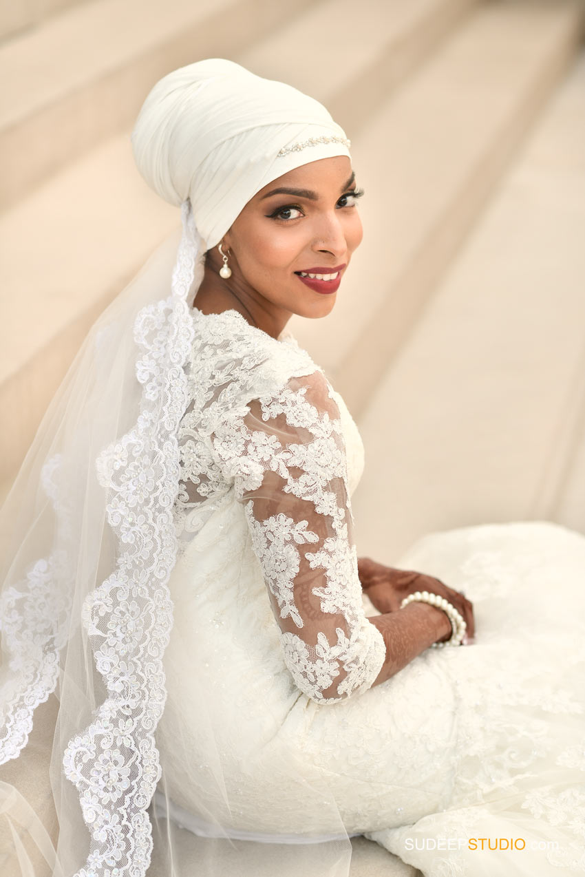 Downtown Lansing Somali Bride Wedding Portraits - SudeepStudio.com Ann Arbor Wedding Photographer