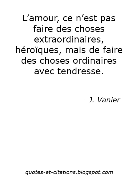 citation l'amour et la tendresse