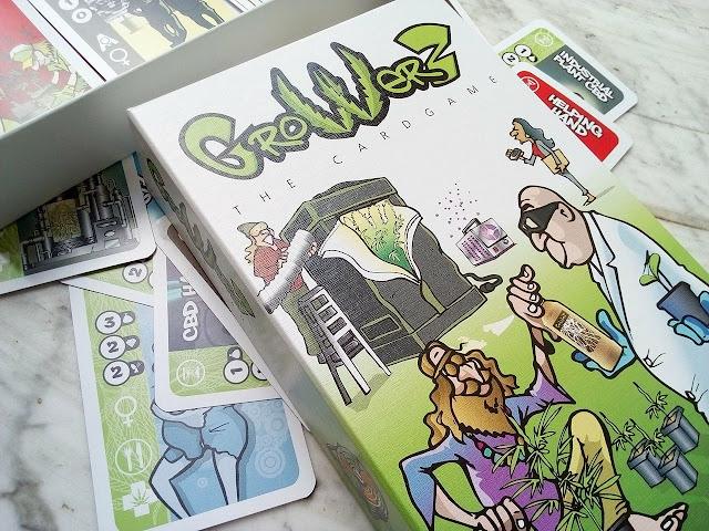 """""""Growerz"""" il gioco di carte per coltivare cannabis"""