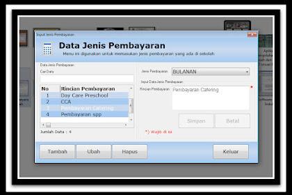Aplikasi Pembayaran Siswa Terbaru Sesuai Juknis