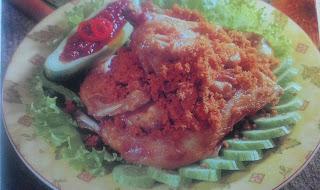 Resep Membuat Ayam Goreng Remah