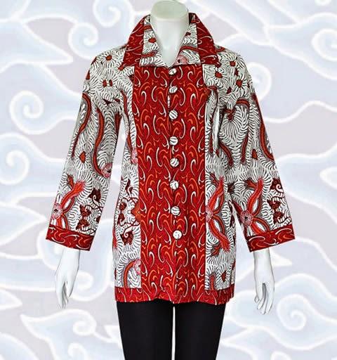 Model Baju Batik Modern Untuk Kerja: 8 Model Baju Batik Wanita Modern Untuk Kerja Terbaru