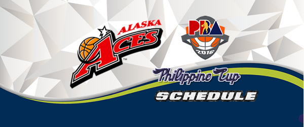 List of Games: Alaska Aces Complete Game Schedules 2016-2017 PBA Philippine Cup
