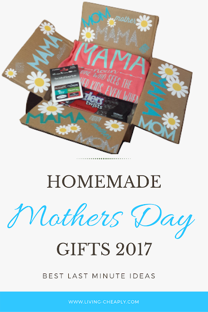 Homemade Mothers Day Gifts 2017- Best Last Minute Ideas