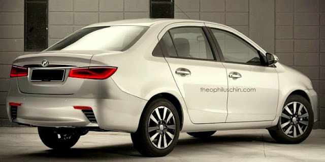 Model Baru Perodua Sedan 2016