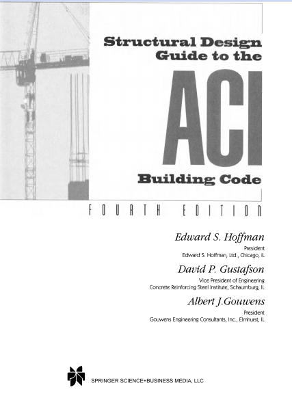 Download Structural Design Guide to ACI Code Fourth Edition