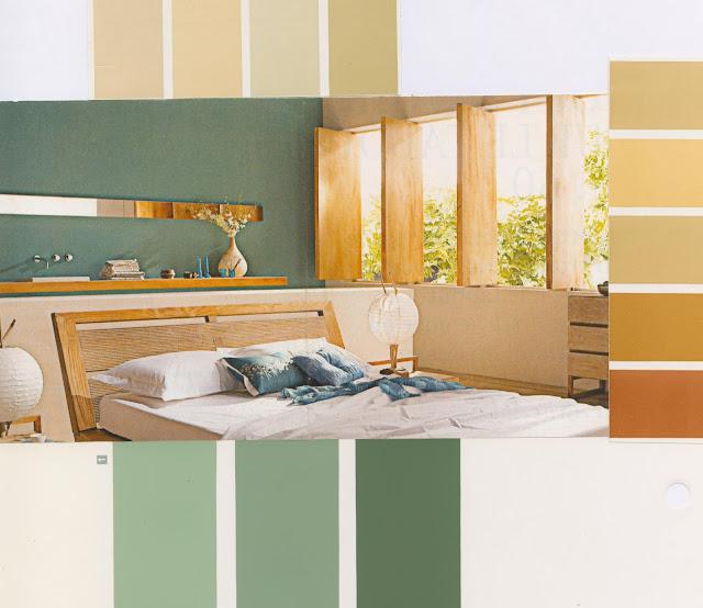 vert, or, bois, moderne