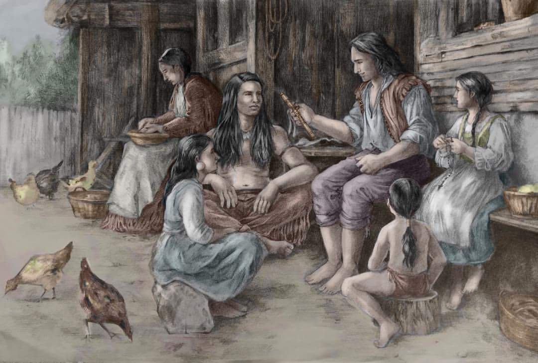 Working Mission Indians