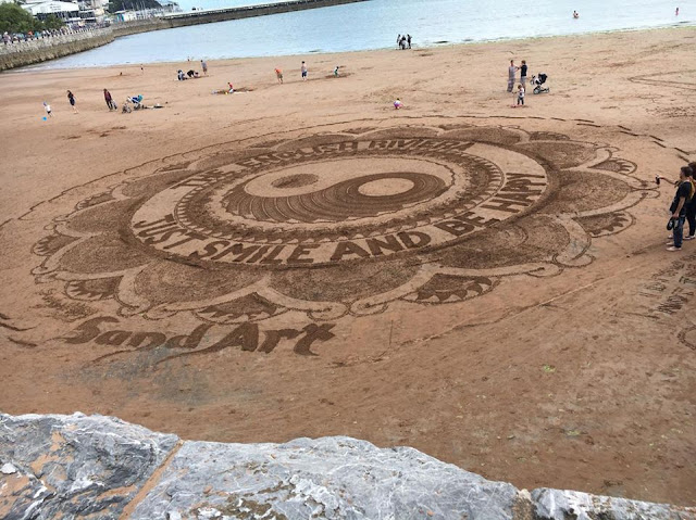Torquay Sand Art