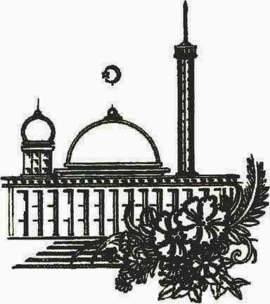 93 Gambar Gambar Masjid Warna Hitam Putih Terlihat Cantik