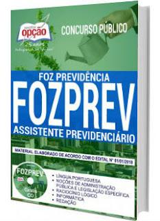 Apostila FOZPREV 2018 - Assistente Previdenciário