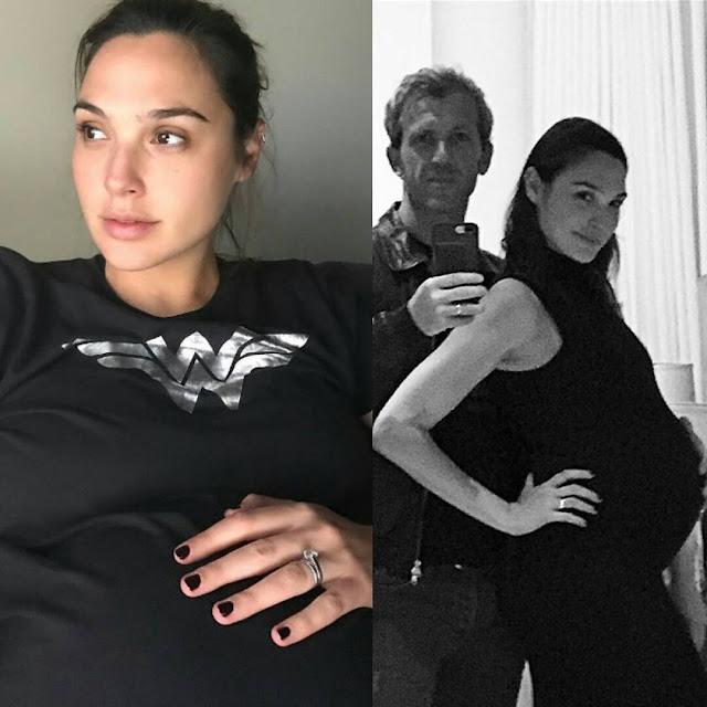 """Wonder Woman"" Gal Gadot dio a luz a una niña"