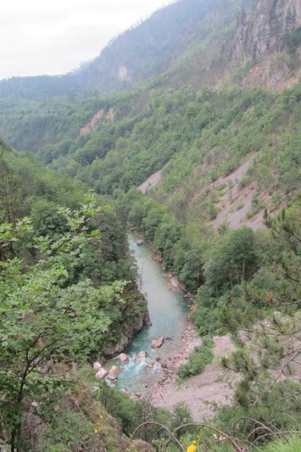 Montenegro, rivier Moraca