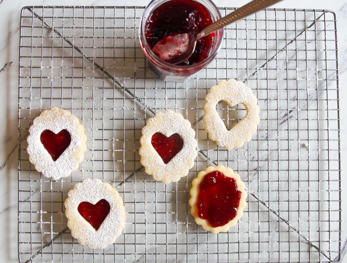 Linzer Cookies ♥