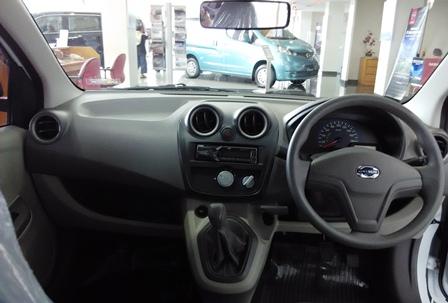 Interior Datsun Go+ Panca