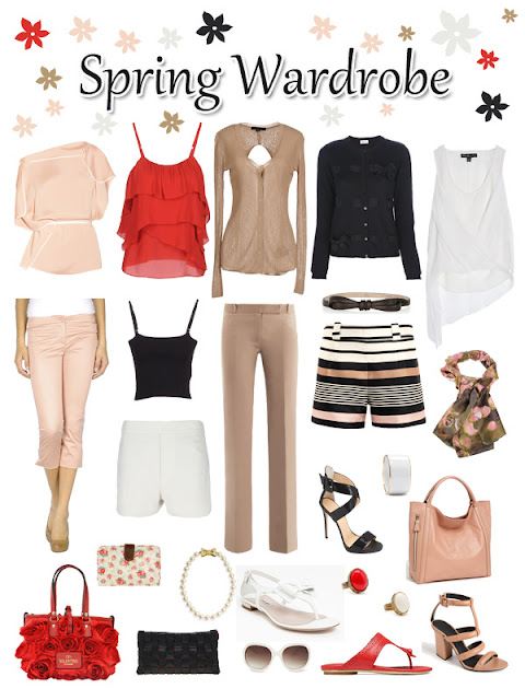Spring 2013 wardrobe by Pascale De Groof