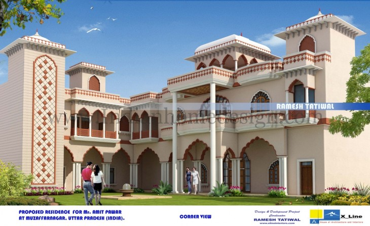 Heritage Haveli Design Indian Home Design Free House