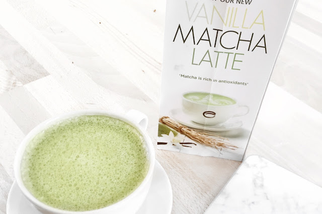 Katherine Penney Chic Vanilla Matcha Latte Green Hot Drink Yummy Sweet