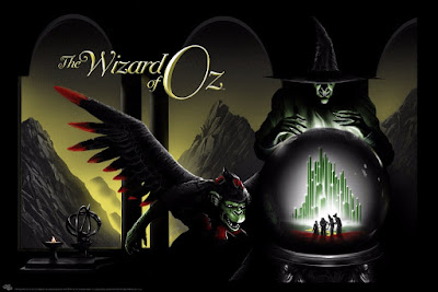The Wizard of Oz Regular Edition Movie Poster Screen Print by JC Richard x Mondo