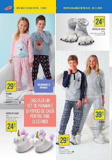 CATALOG PEPCO 9 - 22 noiembrie 2018 pijamale si papuci copii