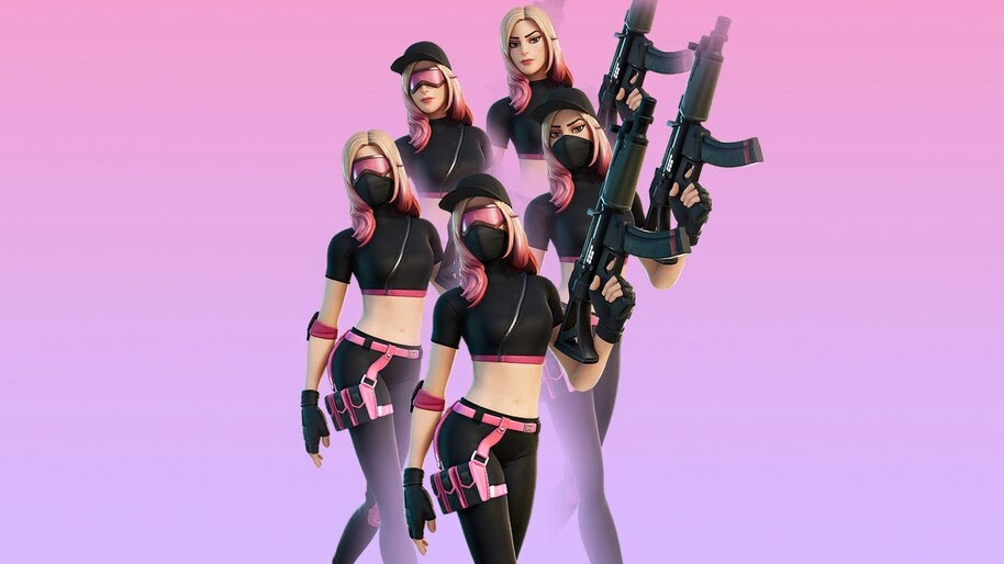 Fortnite, Athleisure Assassin, Skin, Outfit, 4K, #7.2473