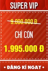 Vé SUPER VIP - 1.995.000 đ