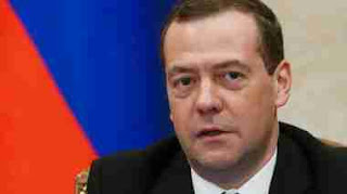 Russian Prime Minister Dmitry Medvedev claims Russia and US military clash