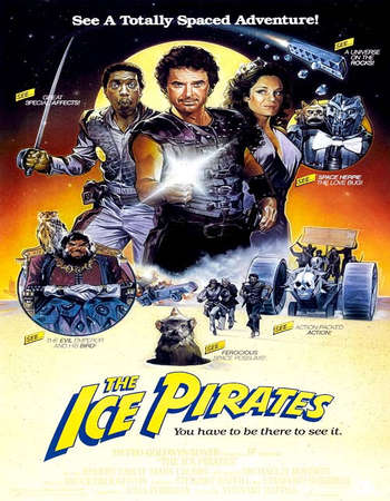 Poster Of The Ice Pirates 1984 Dual Audio 120MB BRRip HEVC Mobile ESubs Free Download Watch Online