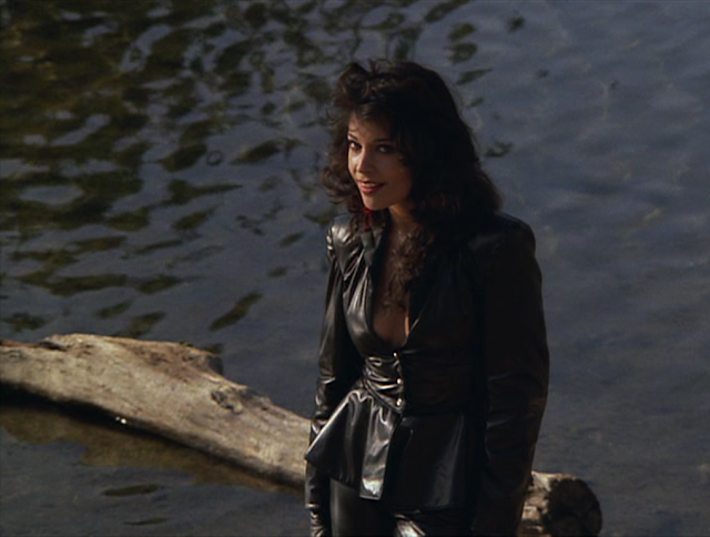 Apollonia, in front of not-Lake Minnetonka.