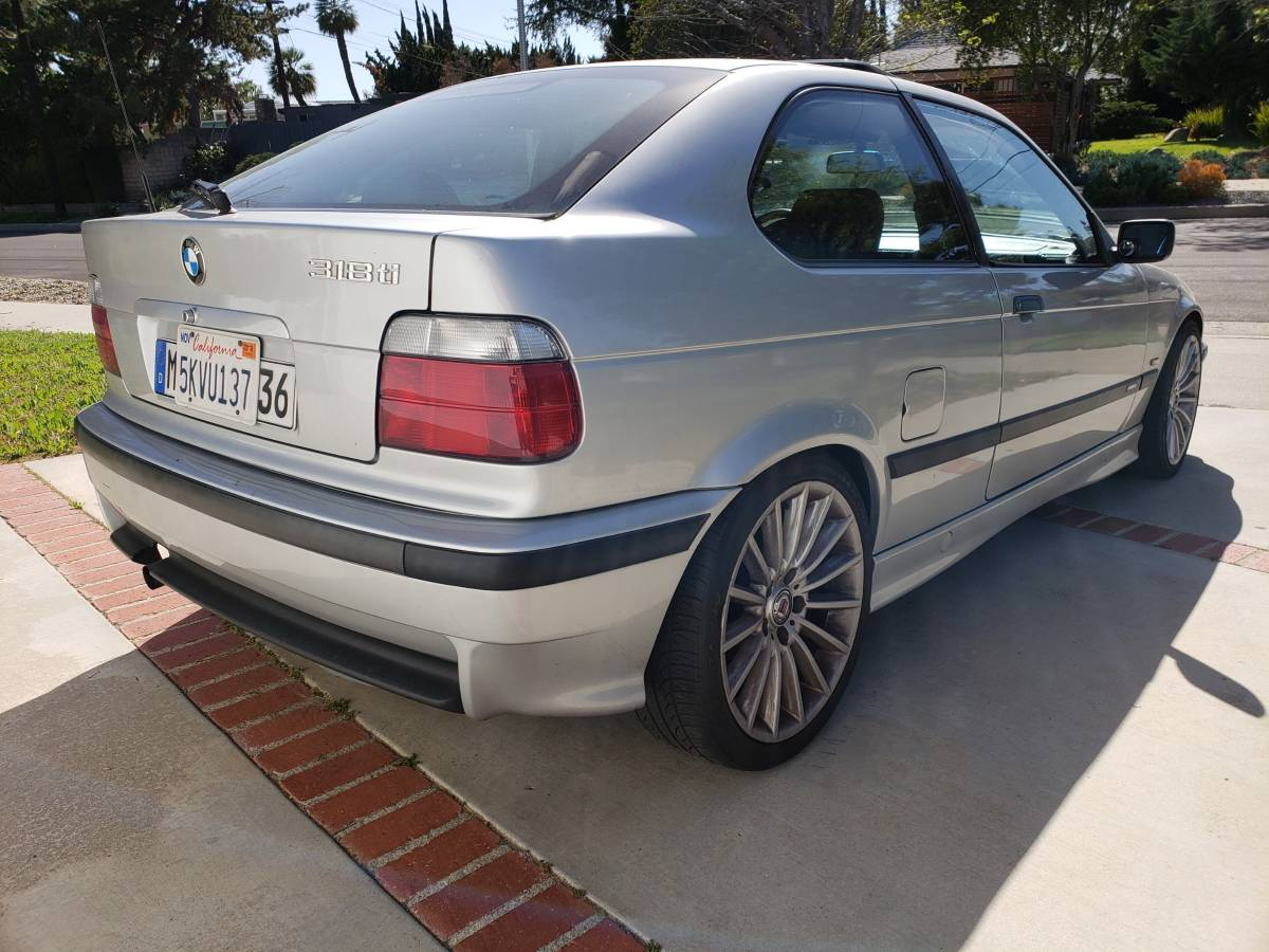 Just A Car Geek: Weekend Quickies - A BMW 318ti and an ...