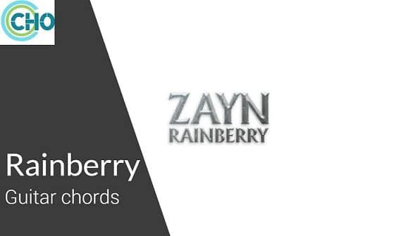 RAINBERRY Guitar chords Accurate | Zayn Malik