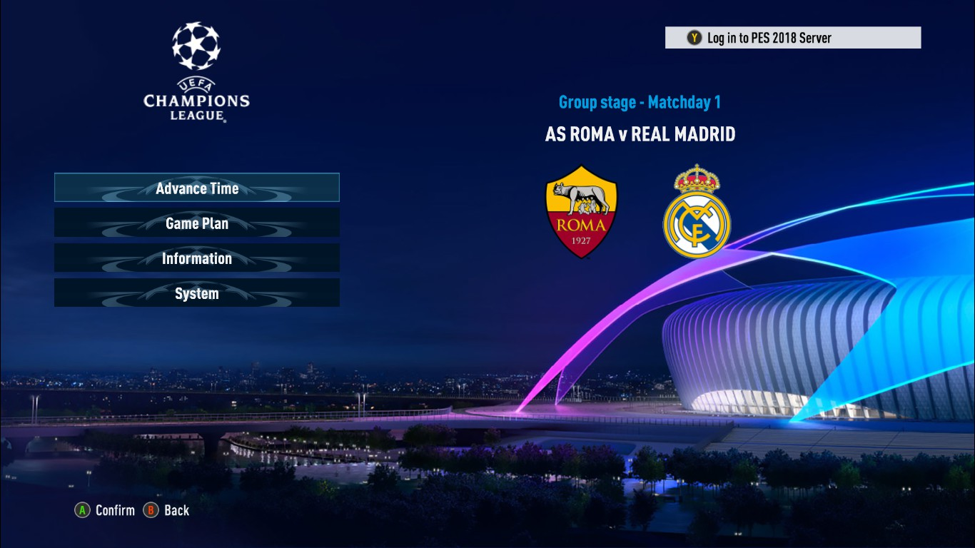 PES 2018 New Champions League Graphic and Intro by Ginda01