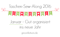 Taschen-Sew-Along 2016 - Januar - Gut organisiert ins neue Jahr
