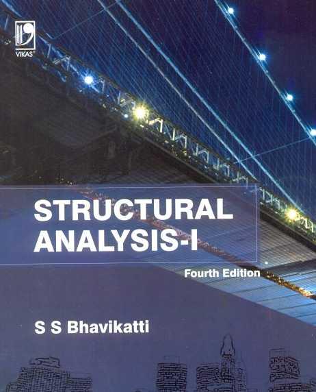 [PDF] Structural Analysis 1 by SS Bhavikatti Free Pdf