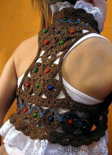 Como hacer un Chaleco de Crochet Facil Tutorial