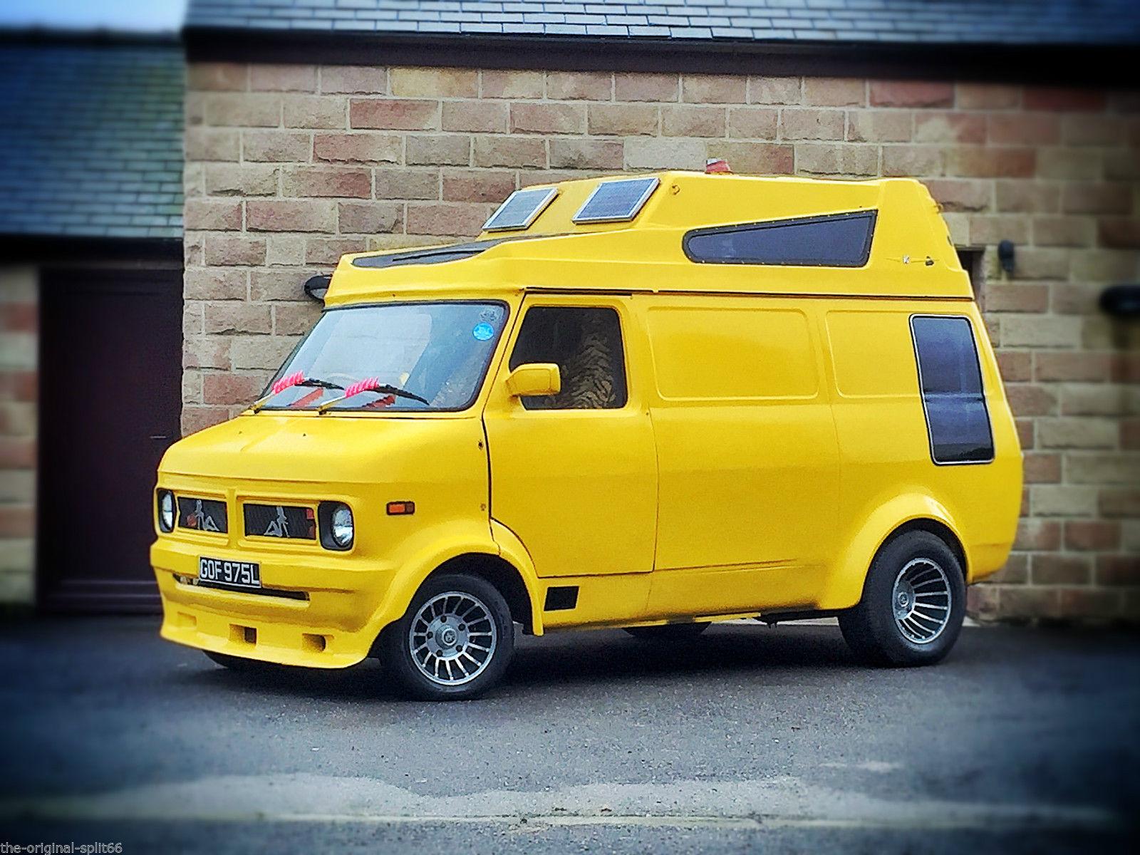 Bedford CF2 Van: Ebay: Custom \'73 Bedford CF V6 Camper - UK
