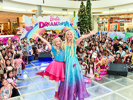 Little Ladies Had a Blast in the Barbie Dreamtopia Event in Lucky ChinaTown