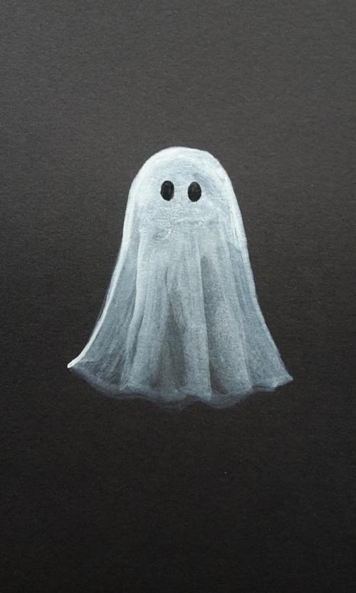 Ghost | Inktober | www.zeitunschaerfe.de
