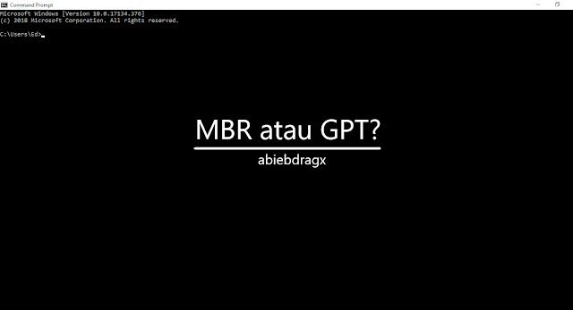 Cara Mudah Mengetahui Skema Hardisk MBR atau GPT? Cara Mudah Mengetahui partisi Hardisk MBR atau GPT? Cara cek Mudah Mengetahui Skema Hardisk MBR atau GPT? Cara Mudah liat Mengetahui Skema Hardisk MBR atau GPT?