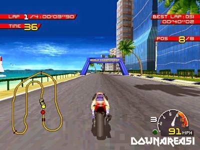 Moto Racer PSX Game