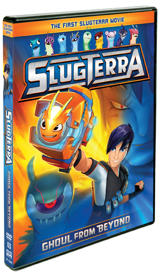 DVD Review & Giveaway - Slugterra: Ghoul From Beyond