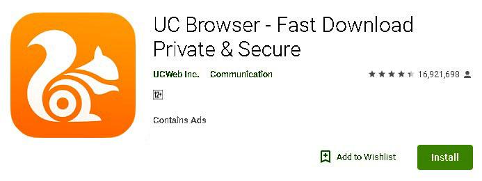 uc browser latest version apk