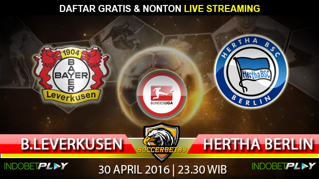 Prediksi Leverkusen vs Hertha Berlin 30 April 2016 (Liga Jerman)