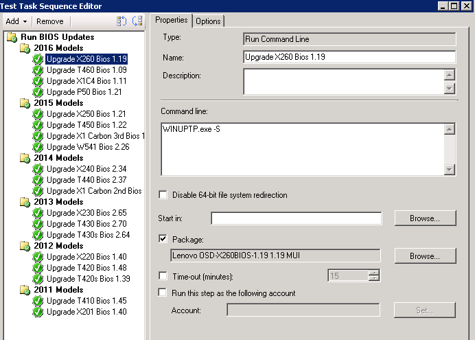 Malignant Narcissism (Windows Deployment Adventures): Lenovo BIOS